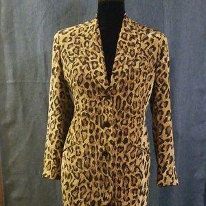 Vintage Saks Fifth Avenue Silk Blazer
